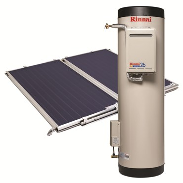 rinnai-solar-hot-water